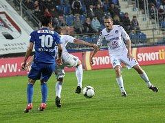 1. FC Slovácko - Liberec. Ilustrační foto.