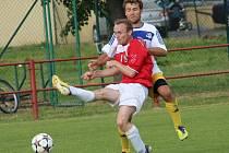 Ilustrační foto ze zápasu Uherský Brod - Velké Meziříčí. Na snímku Stanislav Josefík.