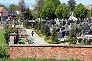 Hřbitov  v Kunovicích.