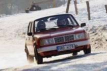Vítěz Ve stopě Valašské zimy Radim Minařík.