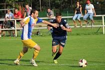 Staroměstský David Hynčica vyrovnal duel proti Vlčnovu na 1:1 a jeho tým následně zvítězil v penaltovém rozstřelu.