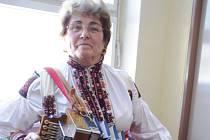 Starostka Vápenic Anna Kubáníková. Ilustrační foto.