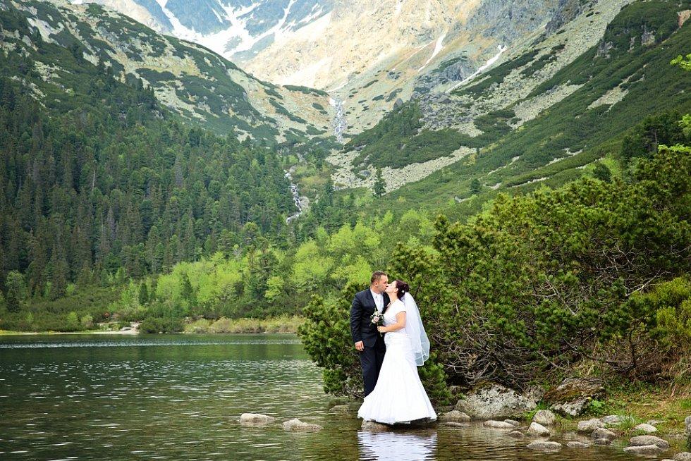 Soutěžní svatební pár číslo 59 - Eva a Štefan Hucanovi, Karolinka