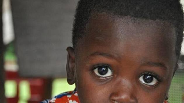 Dítě z africké Ghany. Ilustrační foto.