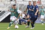 Momentka ze zápasu Jablonec - Slovácko (1:1)