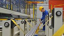 Tažírna oceli ve Starém Městě zprovoznila nové výrobní linky.