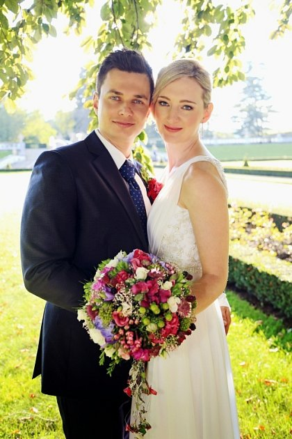 Soutěžní svatební pár číslo 8 – Veronika a Dan Bártovi, Jablůnka.