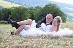Soutěžní svatební pár číslo 53 - Marie a Karel Salvetovi, Bojkovice