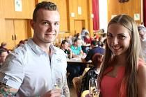 Košt vína v Dolním Němčí