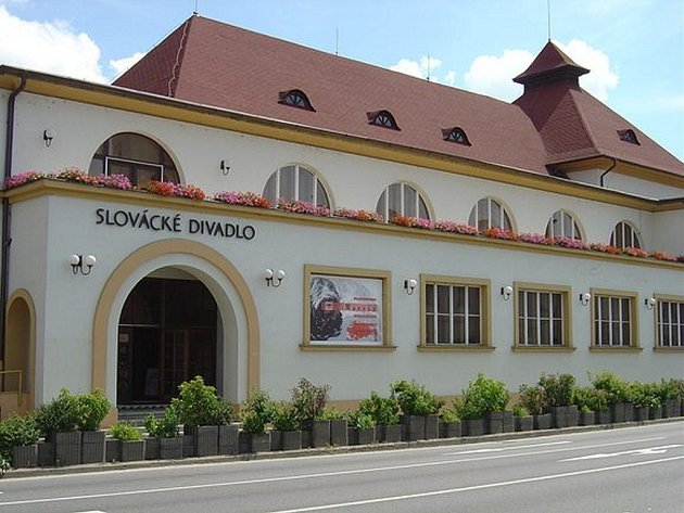 Slovácké divadlo v Uherském Hradišti. Ilustrační foto.