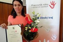 Ocenení pracovnice charity