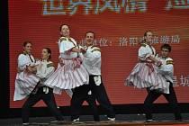 Folklorní soubor Olšava v Číně. Ilustrační foto.
