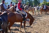 Hubertova jízda na ranči v Buchlovicích