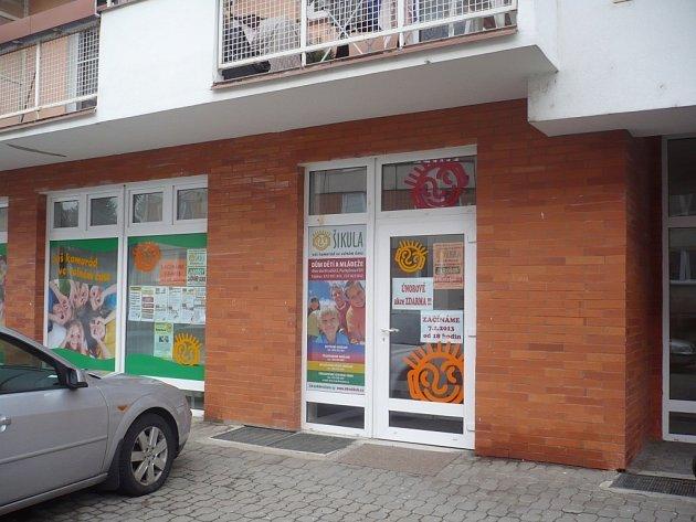 Nové zařízení sídlí v multifunkční budově na jarošovském sídlišti Louky.