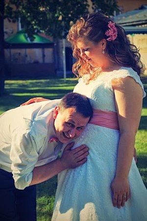 Soutěžní svatební pár číslo 113 - Tereza a Michal Hanulíkovi, Jeseník.
