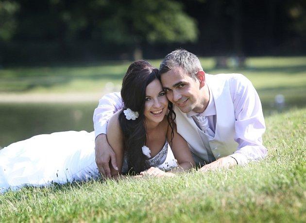 Soutěžní svatební pár číslo 149 - Denisa a Vladimír Pechovi, Přerov