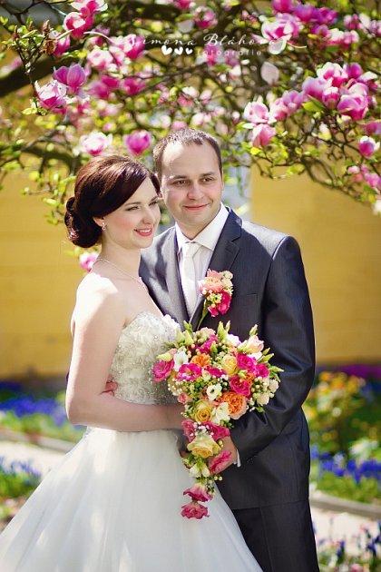 Soutěžní svatební pár číslo 50  –  Markéta a Michal Sedlačíkovi, Zlín