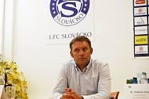 Nový trenér 1. FC Slovácko Svatopluk Habanec.