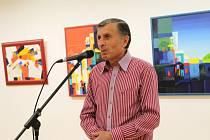 Galerii Vladimíra Hrocha zdobí díla Ašota Arakeljana (na snímku) a jeho arménských kolegů.
