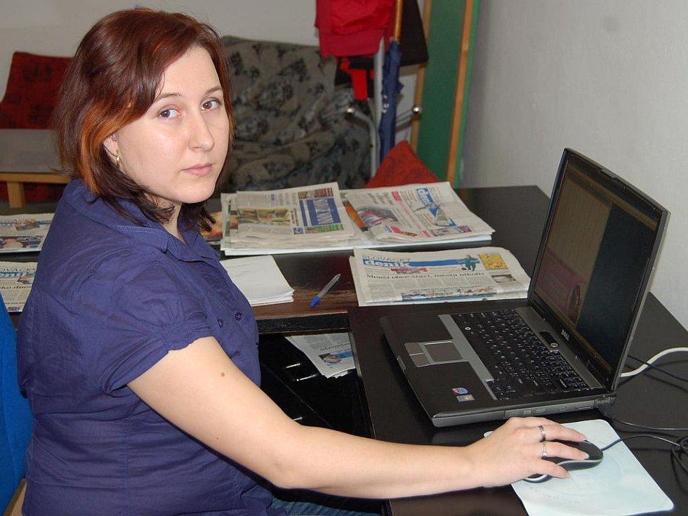 Blanka Malušová, redaktorka Slováckého deníku