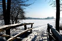 Plánovaný Velkomoravský rybník vznikne v místě někdejšího Ledového rybníka