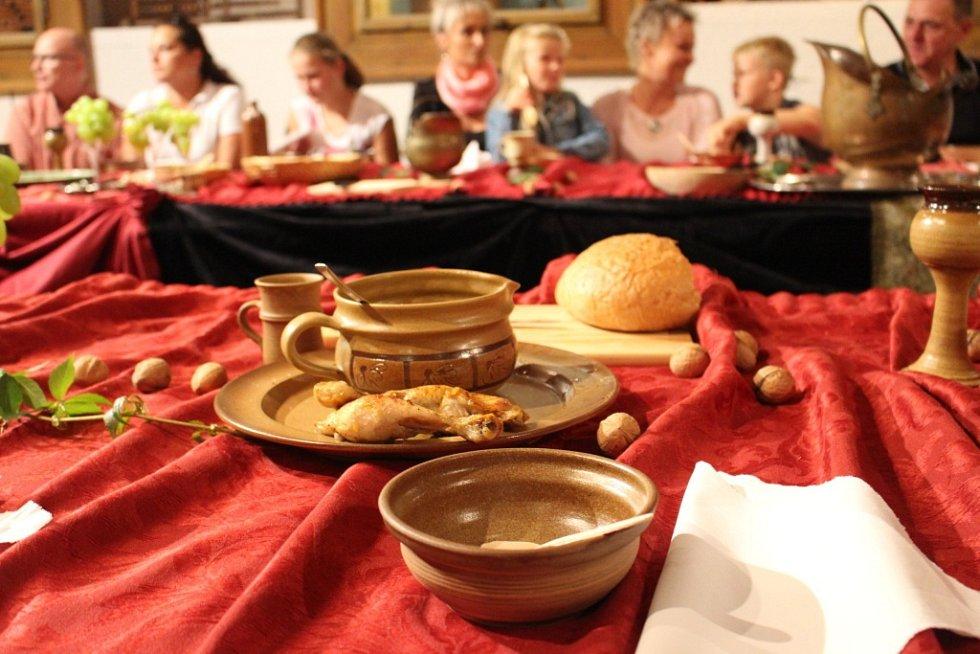 Historická hostina v Uherském Brodě.
