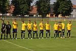 1. FC Slovácko - AS Trenčín 0:1. Přípravný zápas v Ratíškovicích.