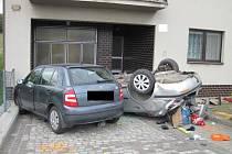 Smrtelná dopravní nehoda v Bystřici pod Lopeníkem.