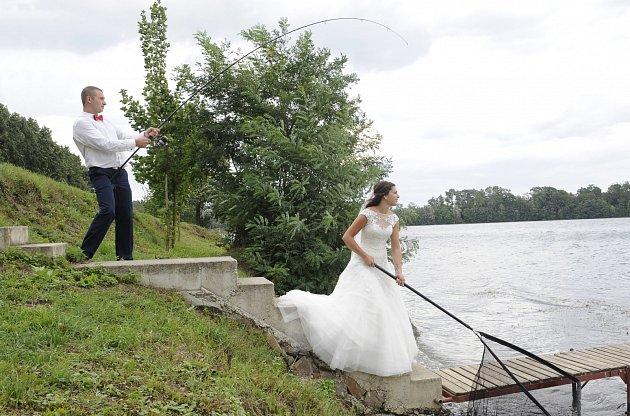Soutěžní svatební pár číslo 123 - Jana a Michal Tvrdí, Kojetín