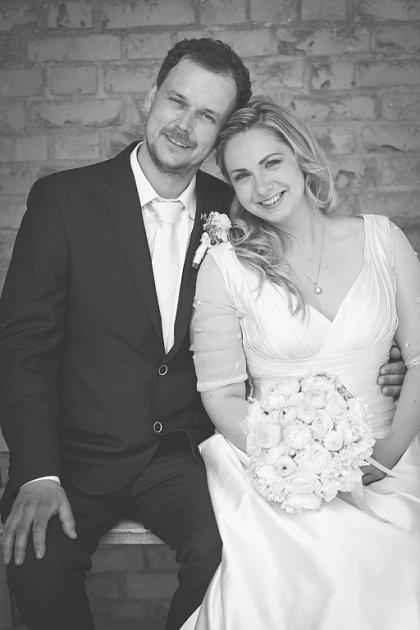 Soutěžní svatební pár číslo 51 - Alžběta a Josef Gardoňovi , Bánov uUherského Brodu