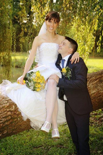 Soutěžní svatební pár číslo 88 - Jana a Vojtěch Baluskovi, Zádveřice