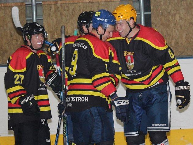 Hokejisté Uherského Ostrohu. Ilustrační foto