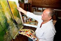 Malíř František Kubina