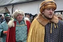 Živý Betlém na Buchlově předvedli přátelé hradu z různých koutů Moravy.