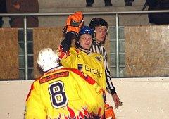 Hokejisté Uherského Ostrohu porazili Warrior Brno 4:2.