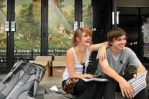 Dobrá nálada v ulicích Uherského Hradiště je tradičně hlavním poznávacím znamením Letní filmové školy.