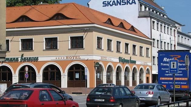 Hotel s restaurací U hejtmana Šarovce. Ilustrační foto.