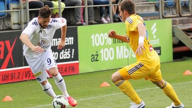 Slovácko proti Jihlavě - Jaroslav Diviš a Tomáš Marek