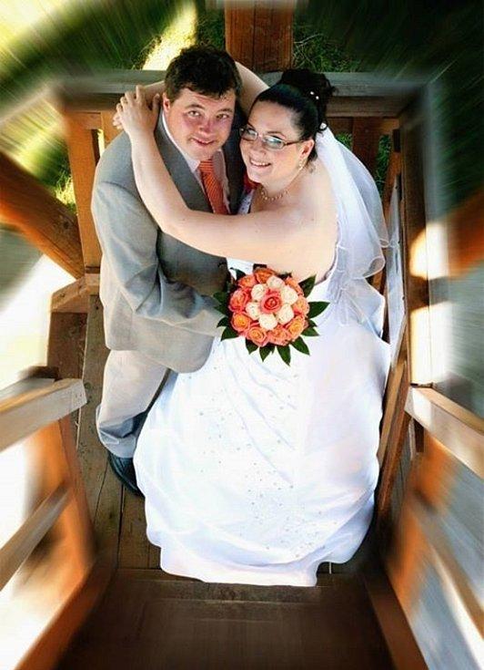 Soutěžní svatební pár číslo 280 - Soňa a Radek Kováčovi Uherský Brod.
