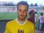 Pětadvacetiletý fotbalista Filip Hruboš byl nejlepším hráčem Uherského Brodu v pátečním zápase proti Kroměříži.