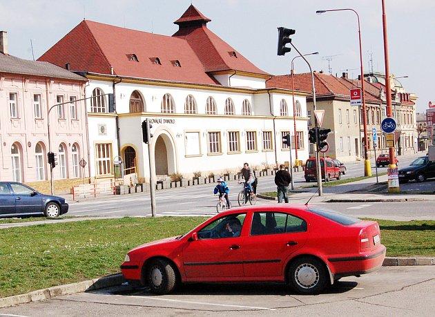 Budova Slováckého divadla.