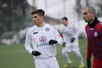 Mladý záložník Slovácka Lukáš Sadílek zatím odehrál v přípravě všechny zápasy.