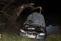 Smrtelná dopravní nehoda u Jarošova.