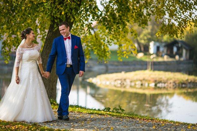 Soutěžní svatební pár číslo 130 - Karolina a Tomáš Hausnerovi, Brodek uPřerova