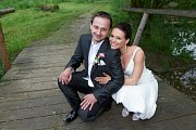 Soutěžní svatební pár číslo 150 - Eliška a Miroslav Říšovi, Kudlovice-Dolina.