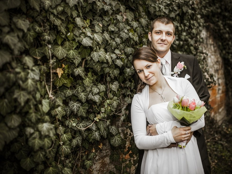 Soutěžní svatební pár číslo 21 - Kristýna a Lukáš Hrubošovi, Uherské Hradiště