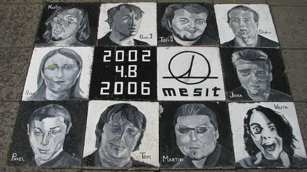 Netradiční tablo mají také studenti školy Mesit z Uherského Hradiště.
