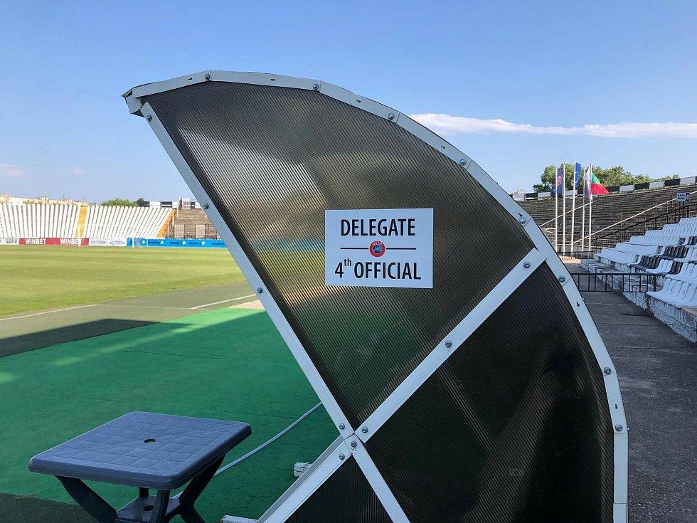 Fotbalisté Slovácka se v bulharském Plovdivu chystají na první zápas druhého předkola Evropské konferenční ligy.