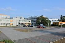 Nové parkoviště u Uherskohradišťské nemocnice