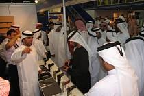 Návštěva syna Jeho Veličenstva Šejka MAYED BIN MOHD BIN RASHID AL MAKTOOM z dubajské královské rodiny.